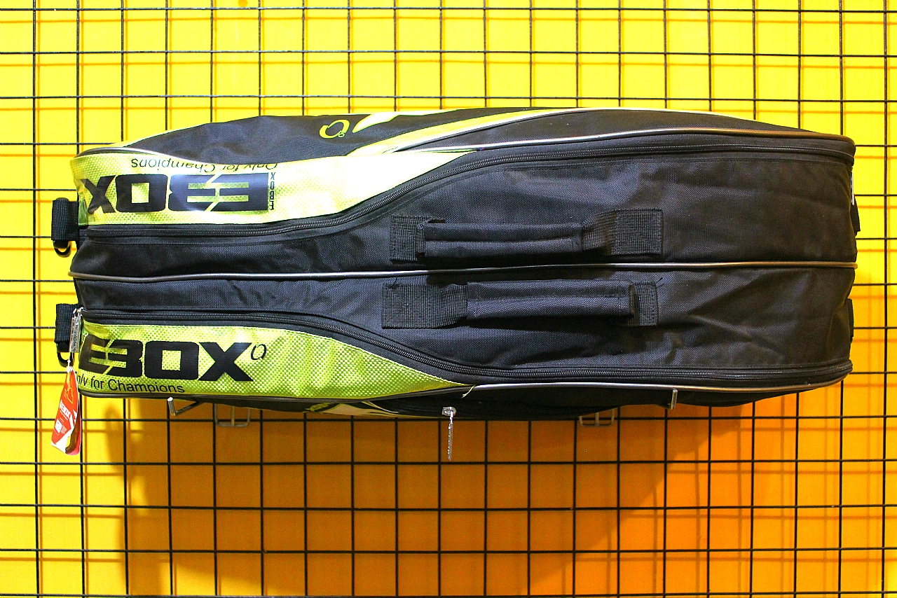 Tas Raket Badminton Thermo EBOX BT6 404AF Black Lime
