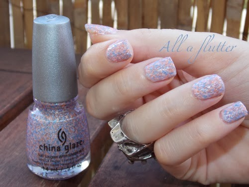 all a flutter china glaze swatch polish blog beauté psychosexy