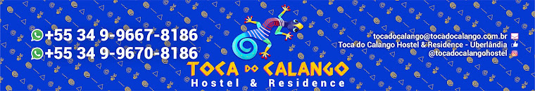 BLOG - TOCA DO CALANGO HOSTEL & RESIDENCE