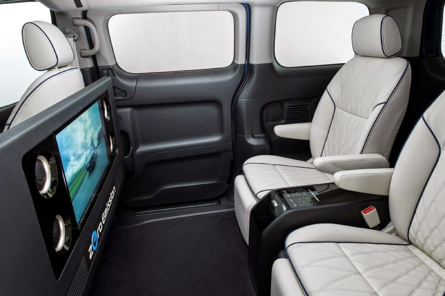 Nissan e-NV200 VIP Concept (2014) Interior 1