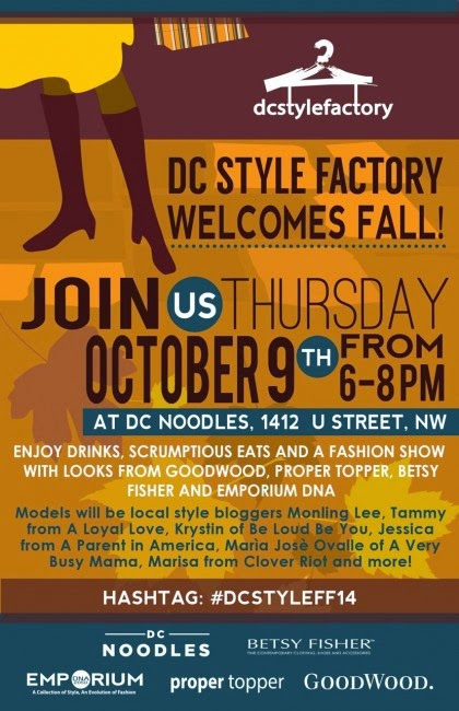 http://gregslistdc.com/event/2014/dc-style-factory-fall-style-event