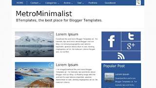 Download Template Metro MetroMinimalist