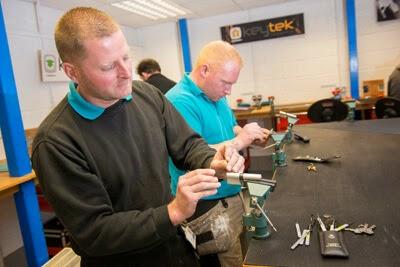 ELC funding can be used towards a locksmith training course