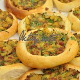 Patatesli Pastırmalı Pide Tarifi