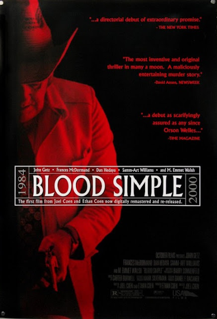 Blood Simple, Directed by Joel Coen, Poster, Coen Brothers