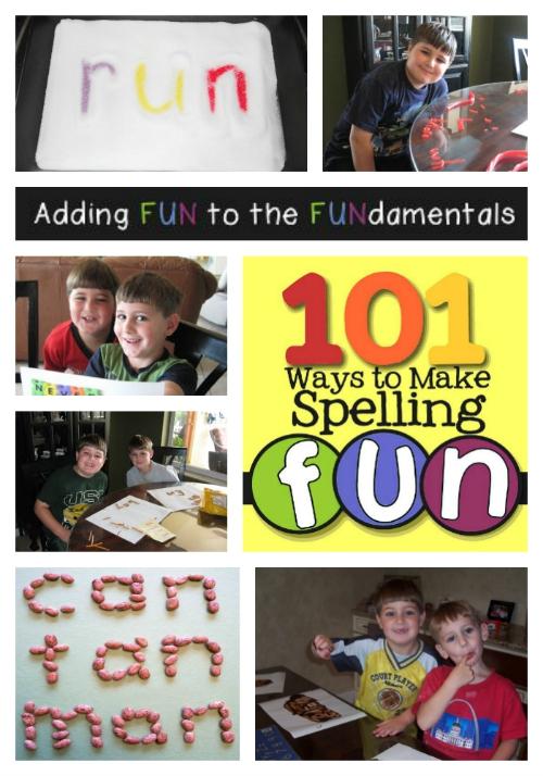 Fun Elementary Spelling Tips