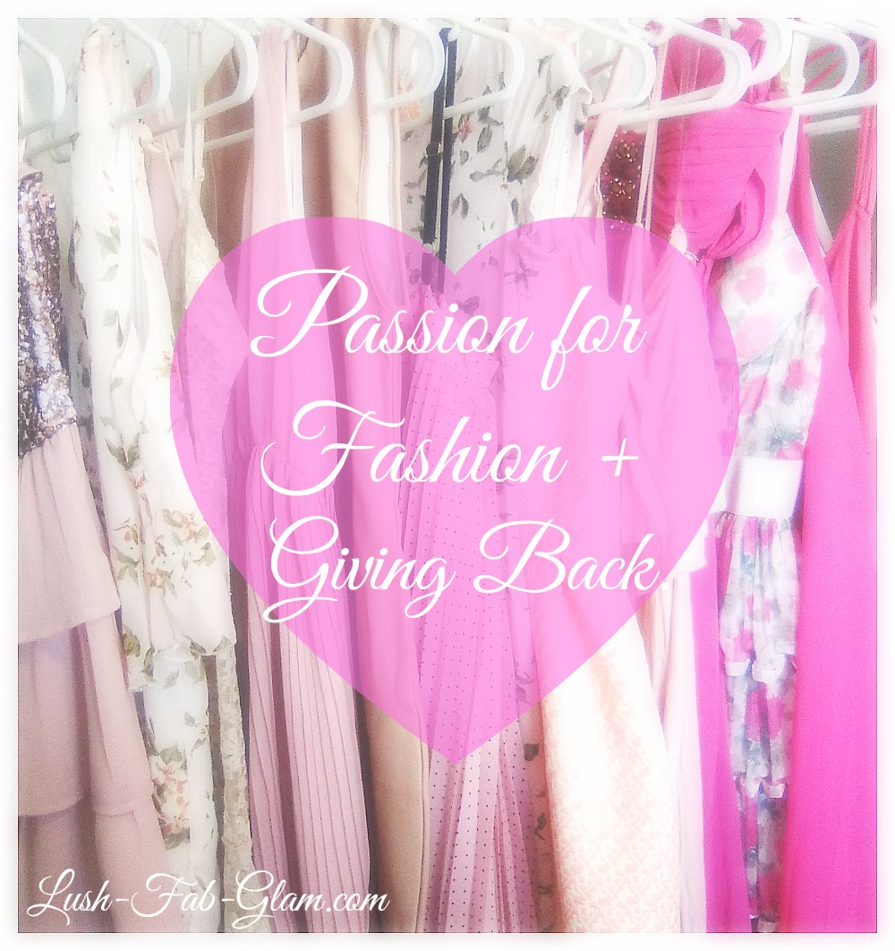 Discover fun and unique ways to give back including using your passion for fashion!