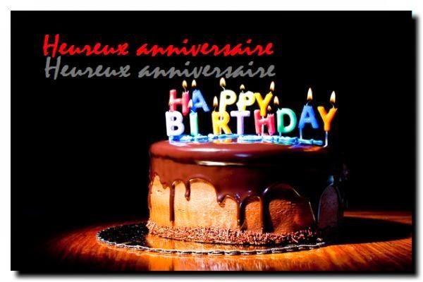 Poème joyeux anniversaire facebook