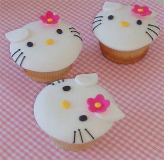 hello kitty cupcake decorating ideas