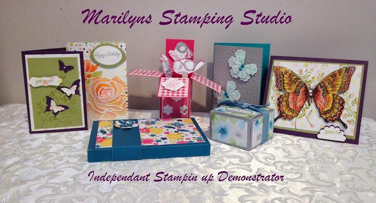 Marilyn's stamping studio