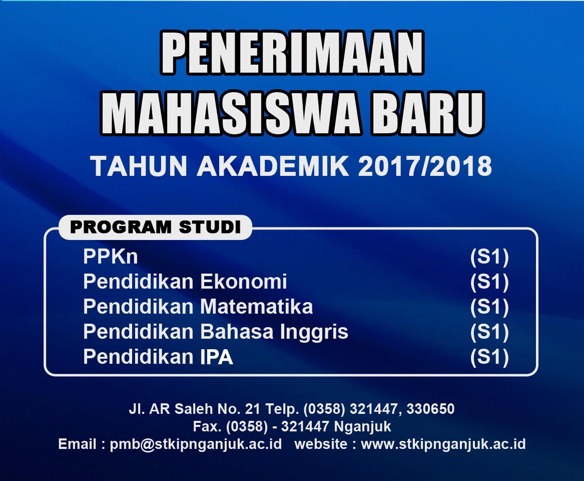 Penerimaan Mahasiswa Baru STKIP PGRI Nganjuk Tahun Ajaran 2017/2018