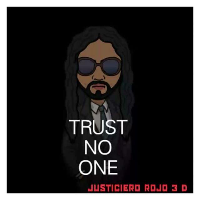 JUSTICIERO ROJO 3 DIMENSIONAL RED JUSTICE BITCH