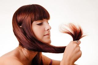 cabello con horquillas