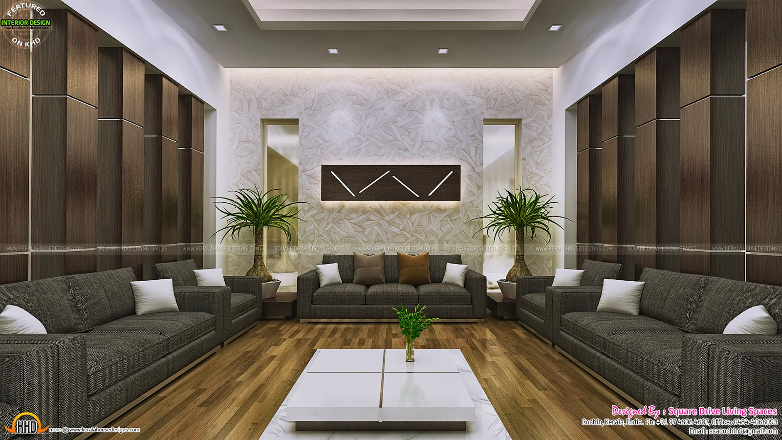 Attractive Home Interior Ideas Kerala Home Design And Floor Plans