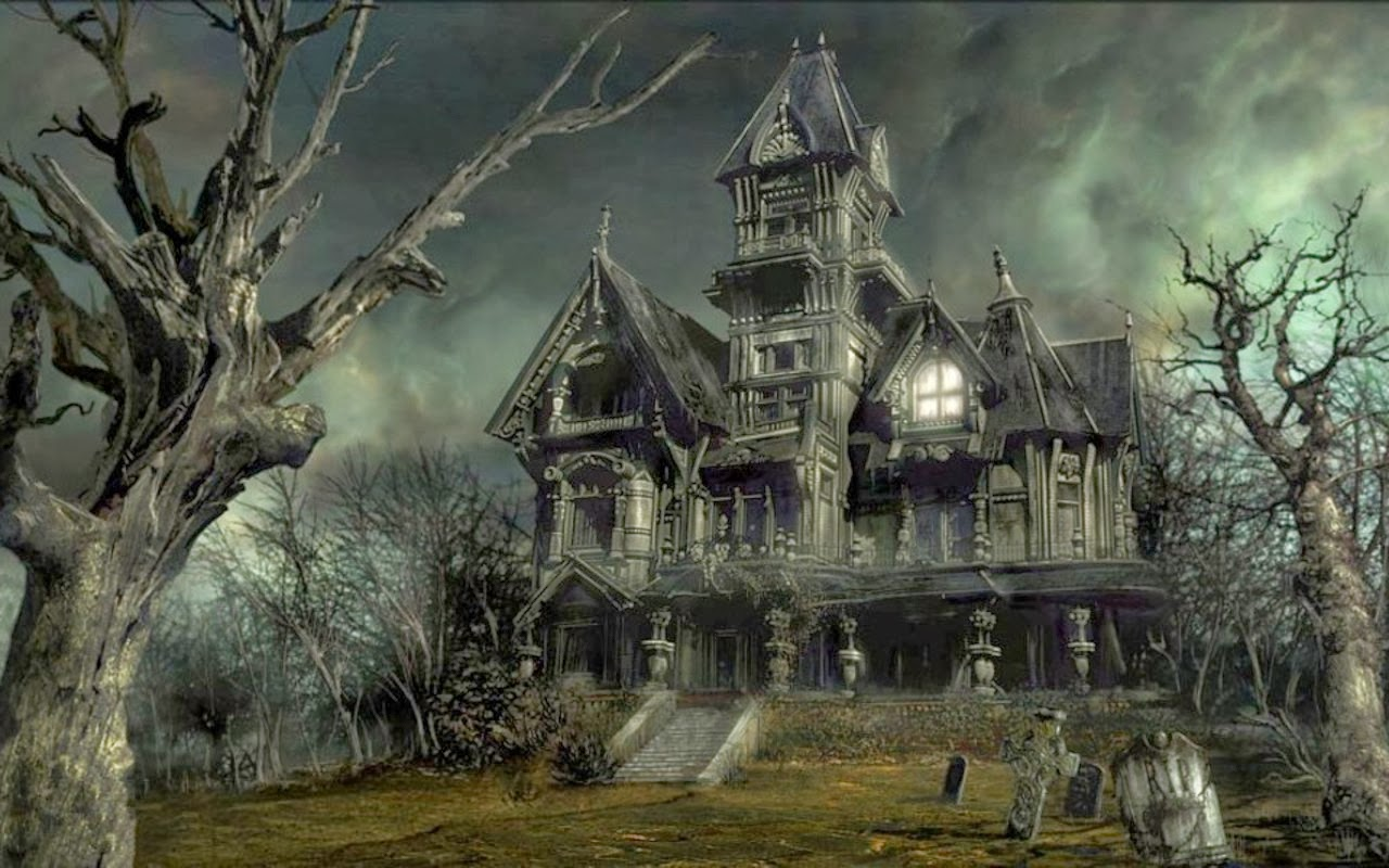 Descriptive Writing Haunted House