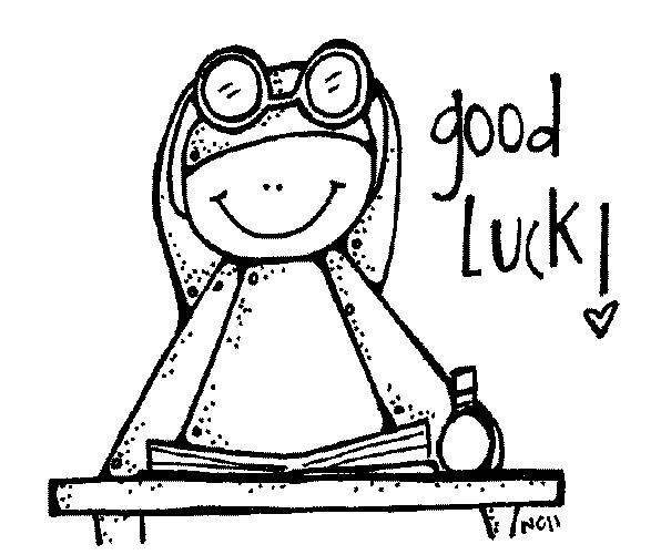 The English Room: Good Luck on your tests!