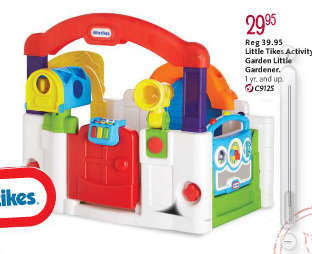 Little Tikes is committed to making safe, quality, durable fun toys that encourage discovery and learning through active, creative, and social play. Little Tikes® urges children to play outdoors and