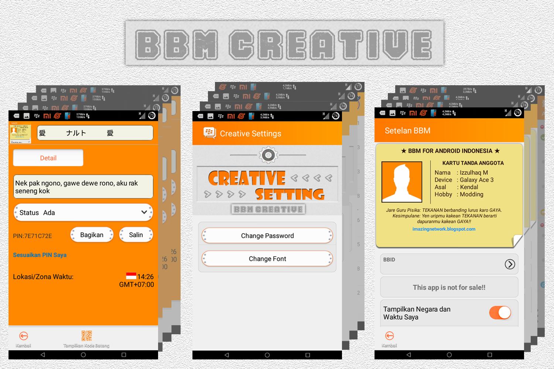 Download BBM Mod Tema Bola v2.7.0.23 terbaru 2015