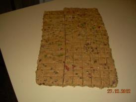 Recept: Kocke od zelea , sitni kolaci