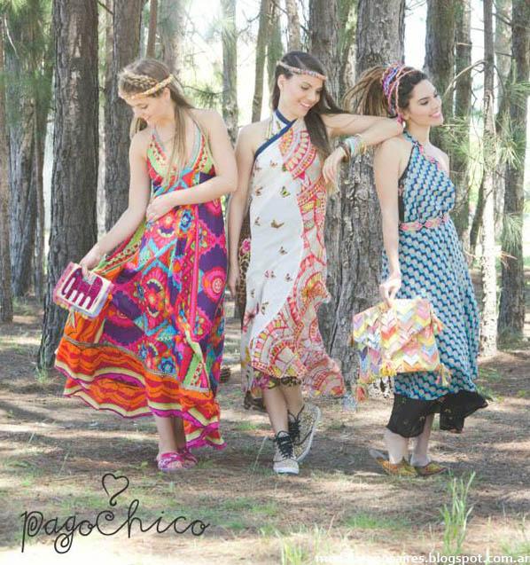 Pago Chico verano 2014. Ropa Hippie Chic. Moda 2014.