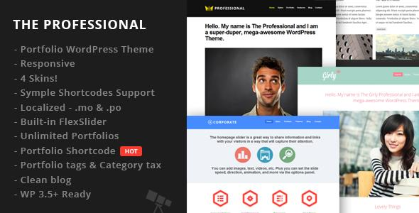 The Professional WordPress Theme | corporate WordPress theme