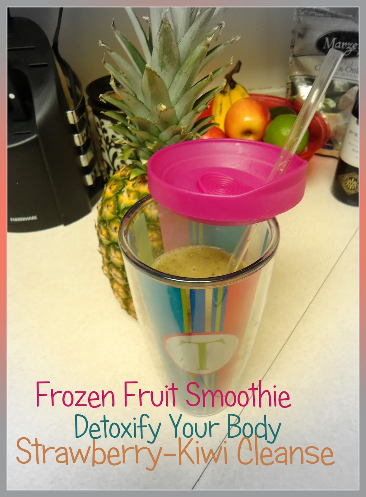 how to make the best smoothie with frozen fruit