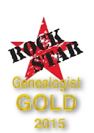 2015 Gold Medallist Rock Star Genealogist Australia and New Zealand