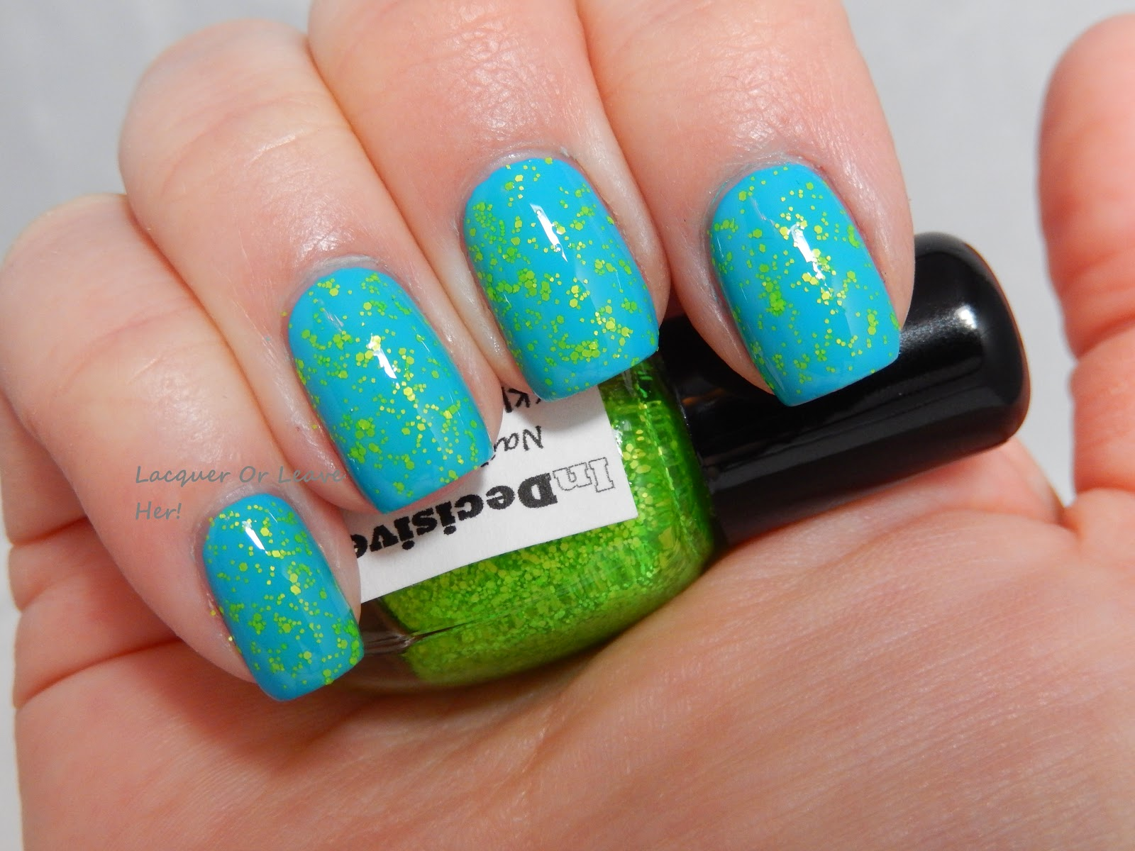 Lacquer or Leave Her!: Review: InDecisive Nail Lacquer Speckled Neon ...