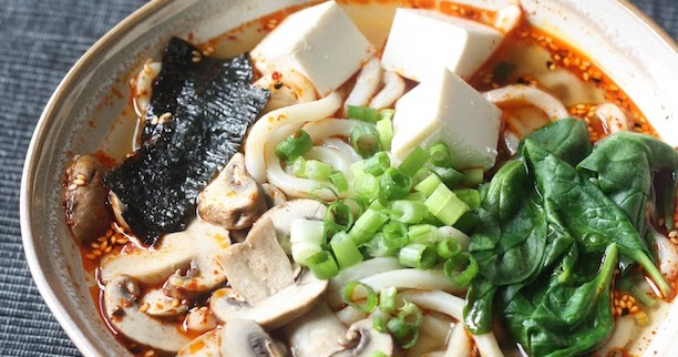Miso Udon Noodle Soup With Spicy Korean Chili Dressing Season With Spice