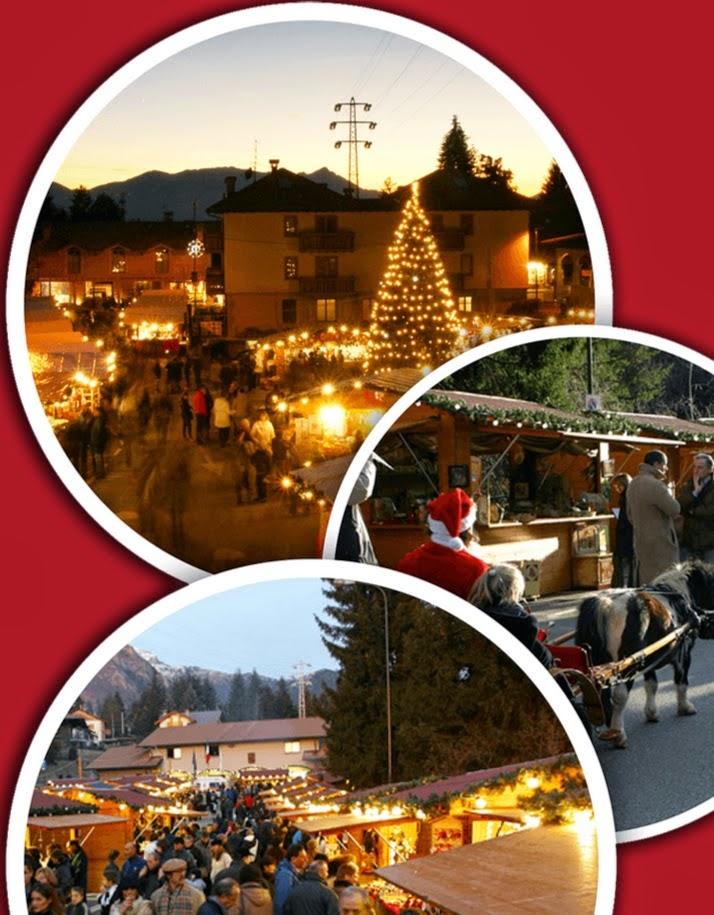 Mercatini di Natale dal 22 Novembre al 21 Dicembre Castione della Presolana