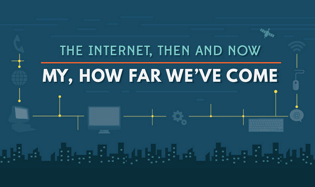 The Internet Then and Now