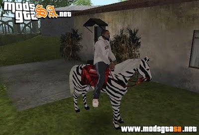 SA - Mod Zebra em San Andreas