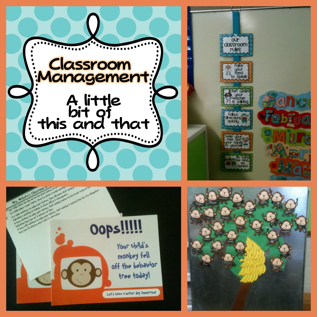 Classroom Management Ideas In Kindergarten ~ Classroom management hodge podge and a freebie