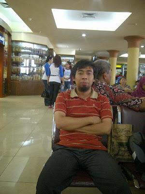 Saya di Bandara Adisucipto, kembali pulang menuju ke Jakarta