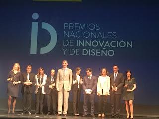 premios, acto, teatro cervantes, faico, innovacion, diseño, rey, reyes de españa, don felipe, doña letizia, marcos prieto,