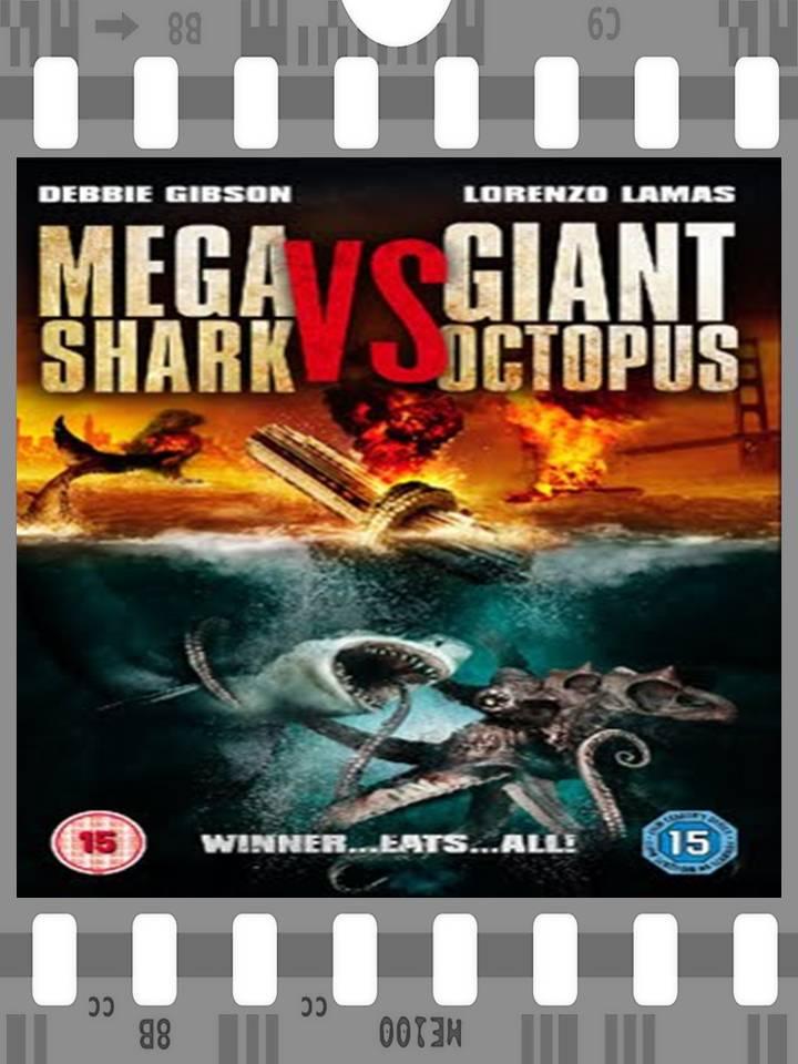 Mega Shark Vs Giant Octopus Poster