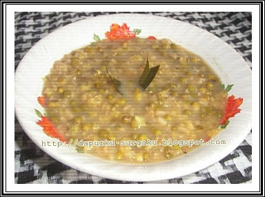 Resep Bubur Kacang Hijau, Ketan Putih, Resep Bubur Kacang Ijo
