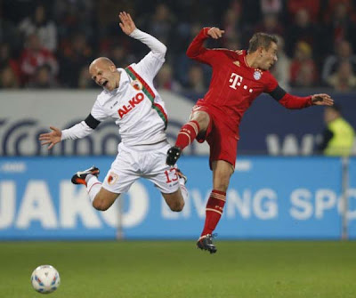 Augsburg 1 - 2 Bayern Munich (2)