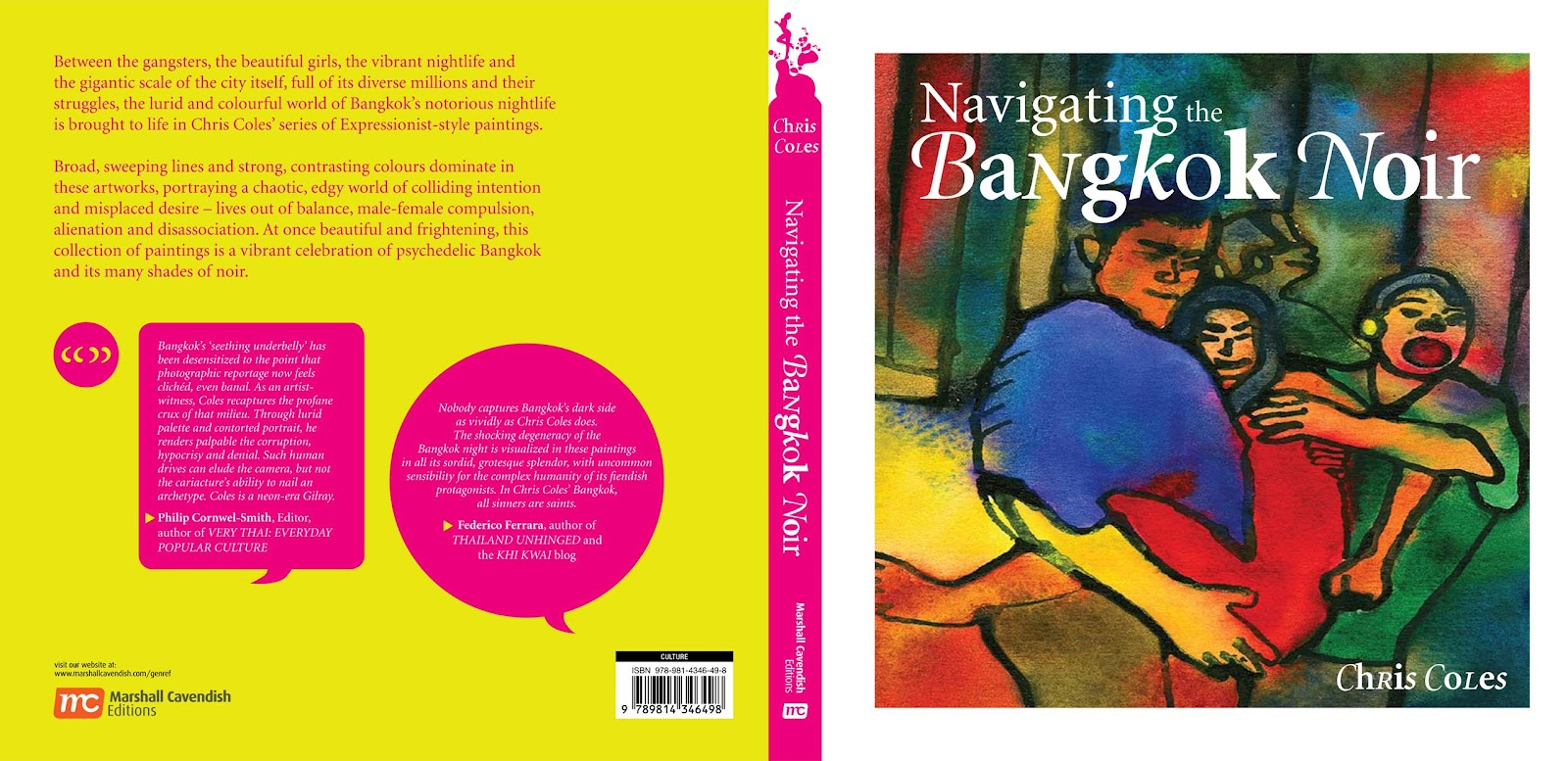 Book Covers Front And Back ~ Navigating the bangkok noir front and back cover of book