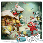 Over the Hedge Winter games (Part 2) by Kandi Designs