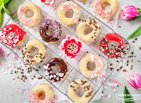 Francuskie à la donuty w czekoladzie