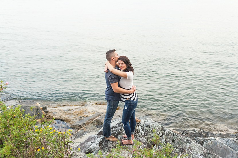 west Vancouver engagement photo