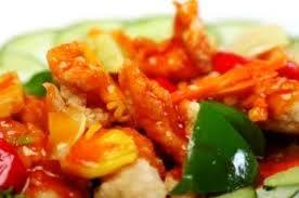 Resep Ayam Udang Asam Manis
