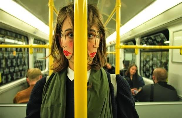 double-faced girl
