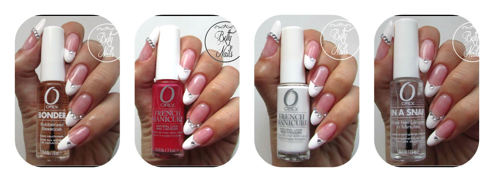 Betty Nails: ORLY | French Manicure Kit [Review]