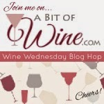 A Bit of Wine Wednesday Blog Hop Button