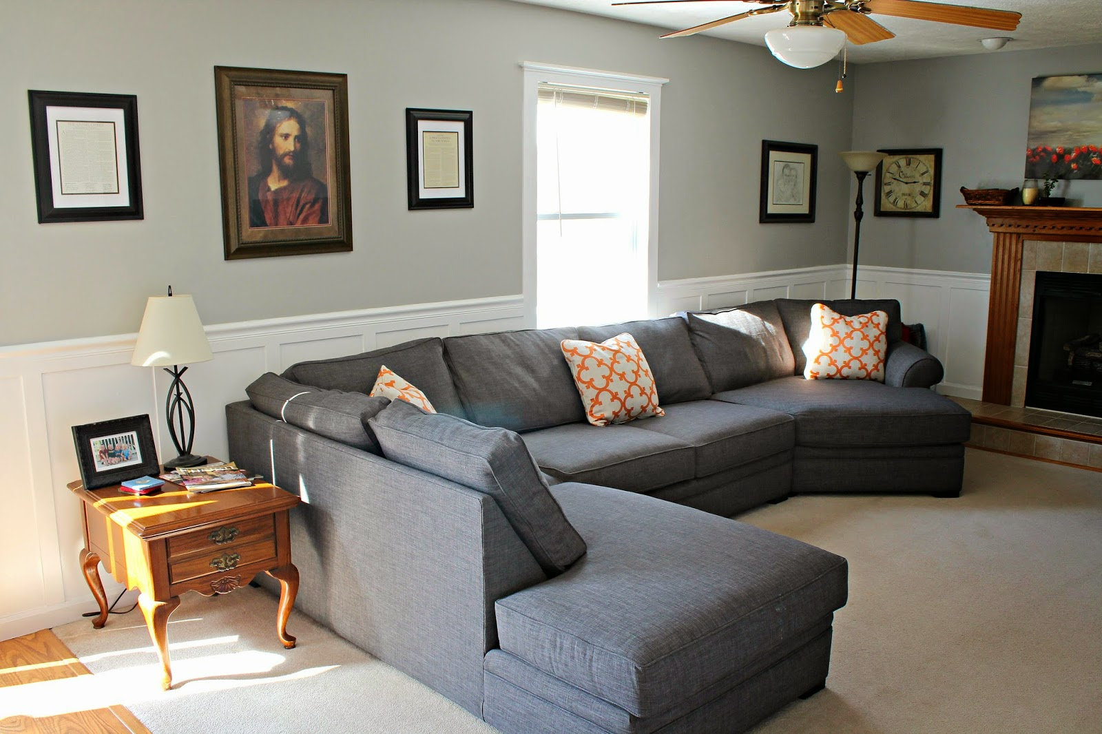 Living Room Sectional Design