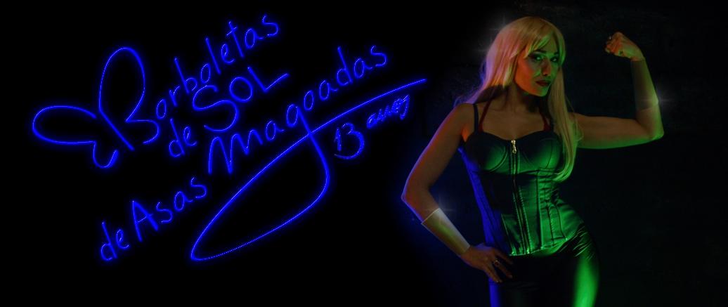 BORBOLETAS DE SOL DE ASAS MAGOADAS