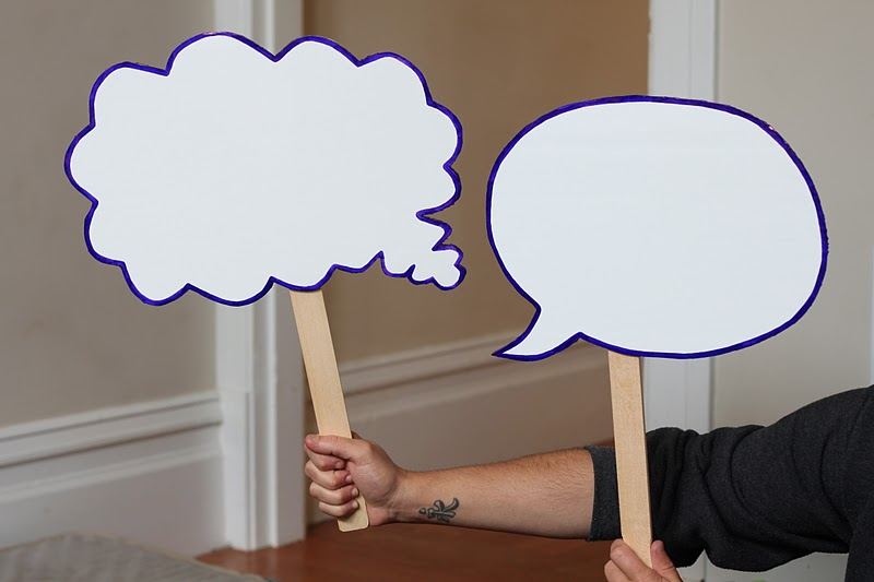 Meticulous life photobooth speech bubbles minus the chalk for Photo booth speech bubble template