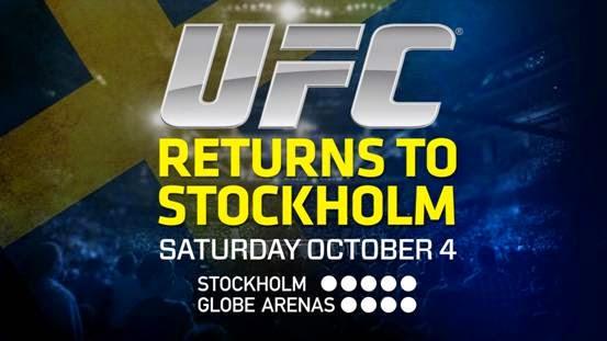 UFC SWEDEN 3